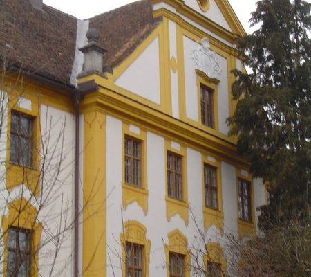 Fassadenarbeiten Gutshof Polling
