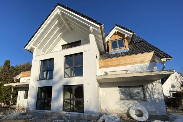 Baubegleitung Mehrfamilienhaus KfW 55