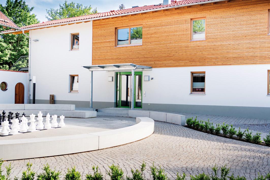 Neubau Tabalugahaus und Sanierung Begegnungshaus auf Gut Dietlhofen
