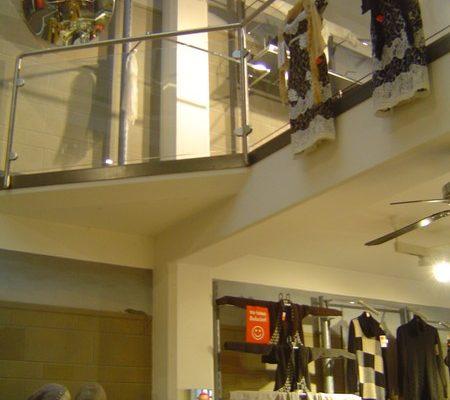 Entkernung und Neugestaltung Modegeschäft Weilheim